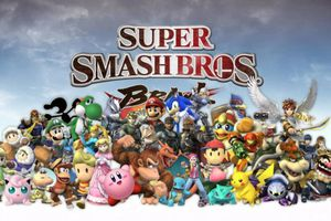 The cover art for Super Smash Bros Brawl