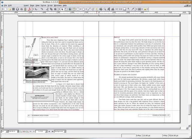 Doing Desktop Publishing with Linux Software