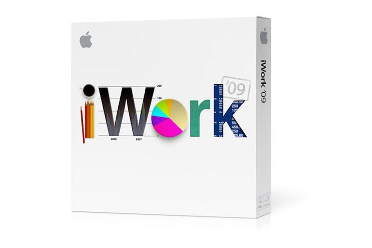 The box for iWork 09