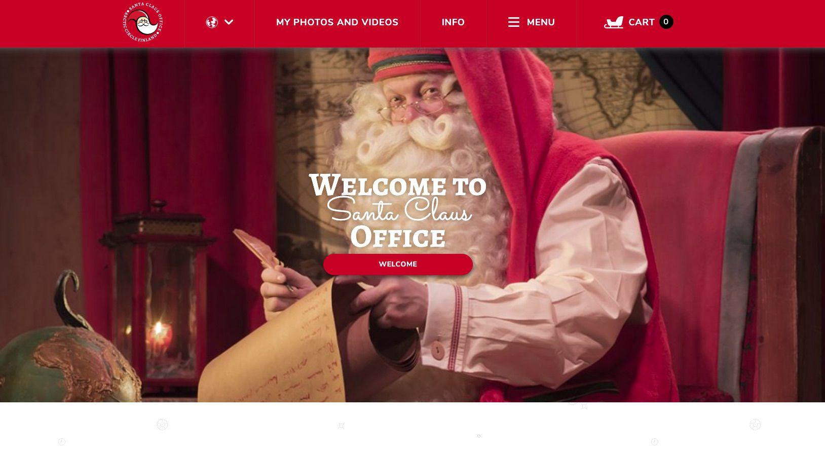 Santa Claus Office website