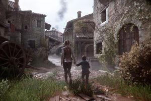 Amicia and Hugo try to survive hordes of rats in A Plague Tale: Innocence