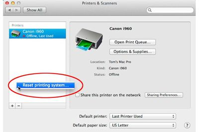 Manually Install a Printer on Your Mac