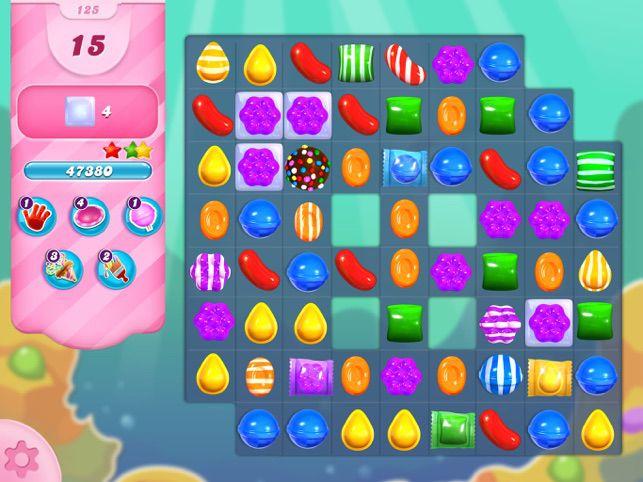 A game of Candy Crush Saga