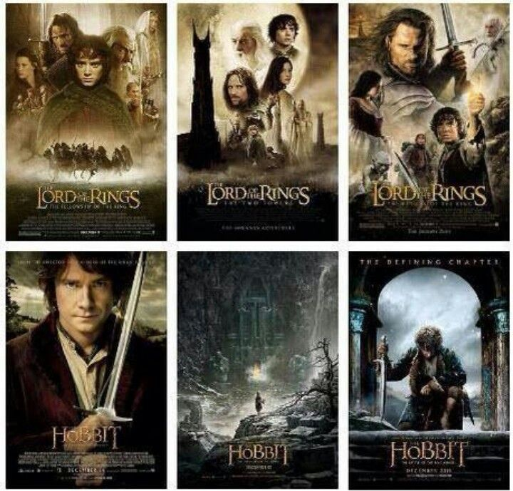 Coverart from the Lord of the Rings movies.