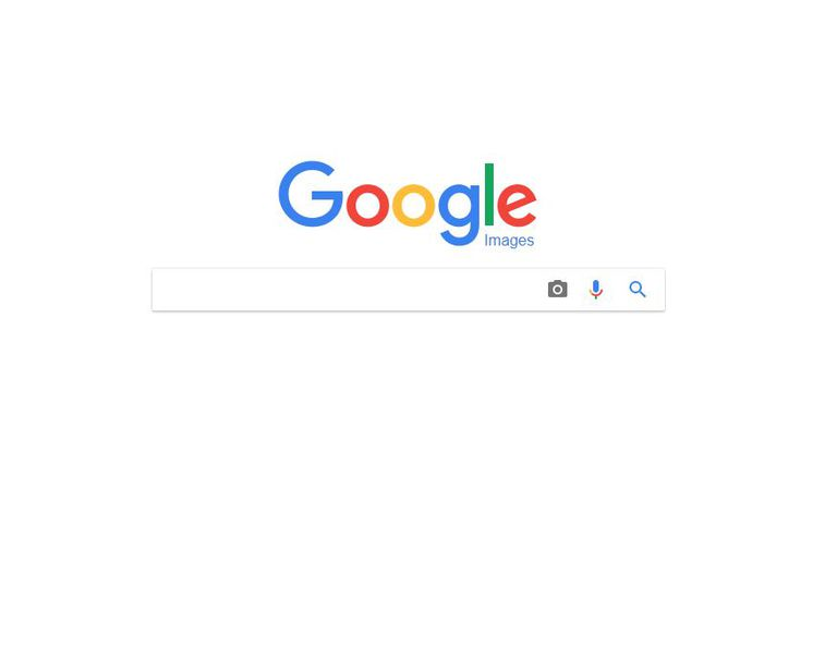 Google image search camera icon