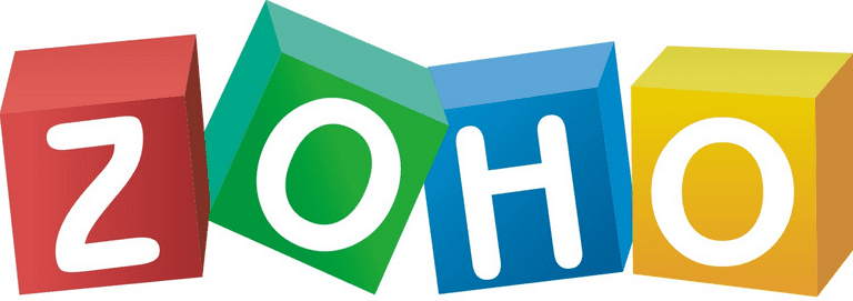 Picture of the Zoho logo