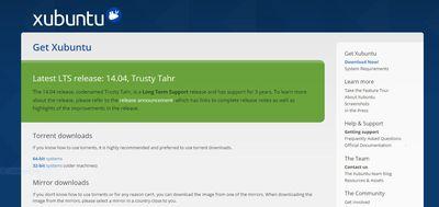 Xubuntu website