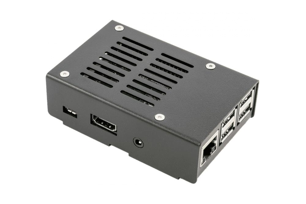 and Pi Camera Pi-Blox Case for Latest Raspberry Pi 3 B White