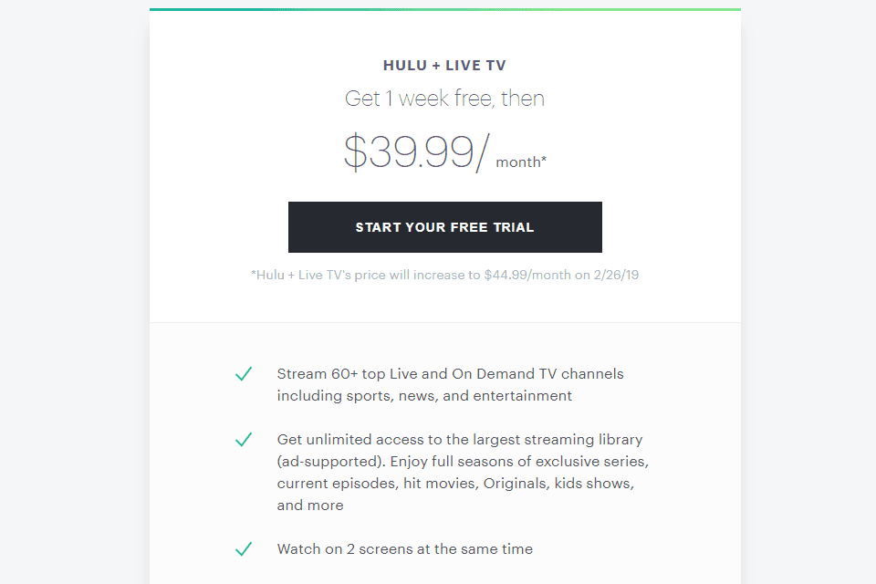 Hulu Stream Movies Shows And Live Tv