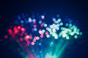 Defocused Light of Fiber Optics