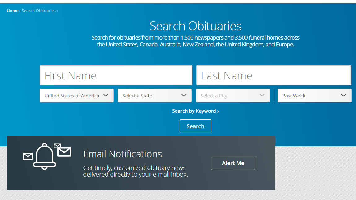How To Find Obituaries Online