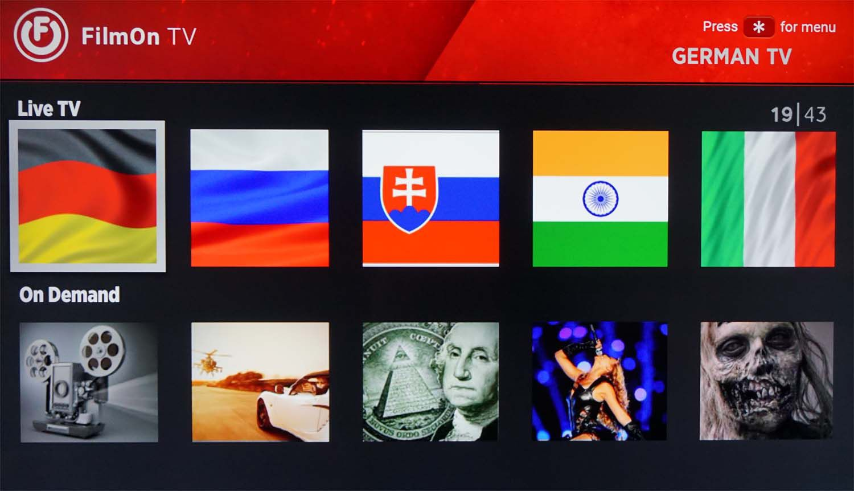 FilmOn.TV for Roku