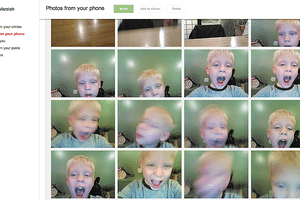 Google+ Photo Editing