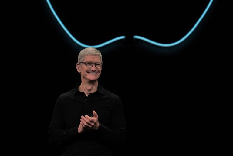 Apple's Tim Cook at WWDC 2019