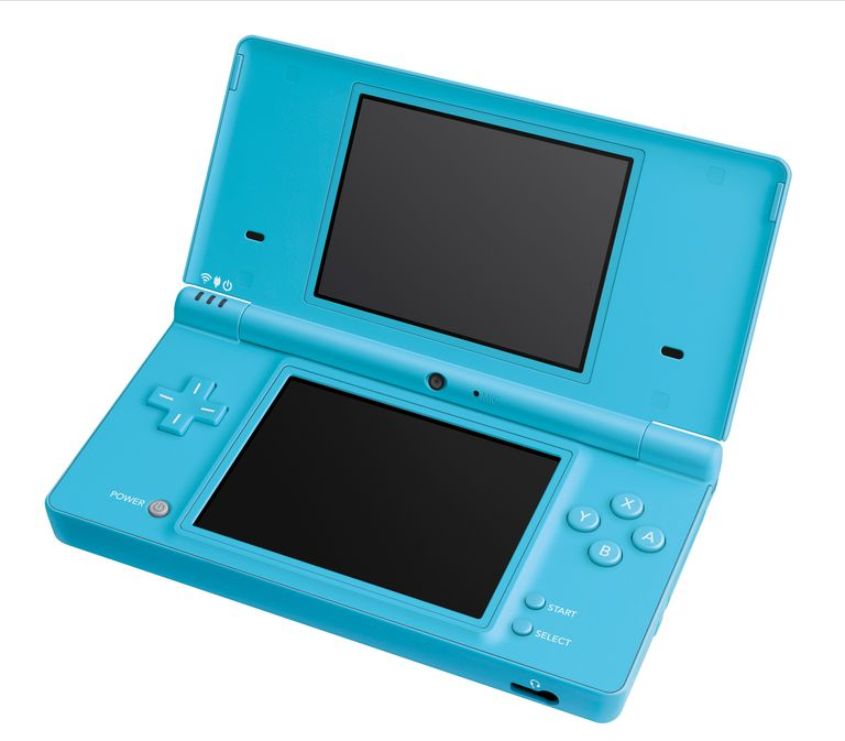 Light blue Nintendo DSi