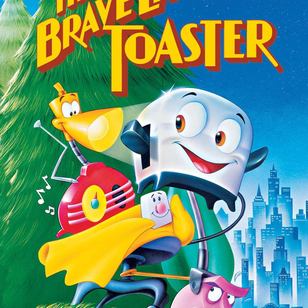 Promotional image for the film The Brave Little Toaster