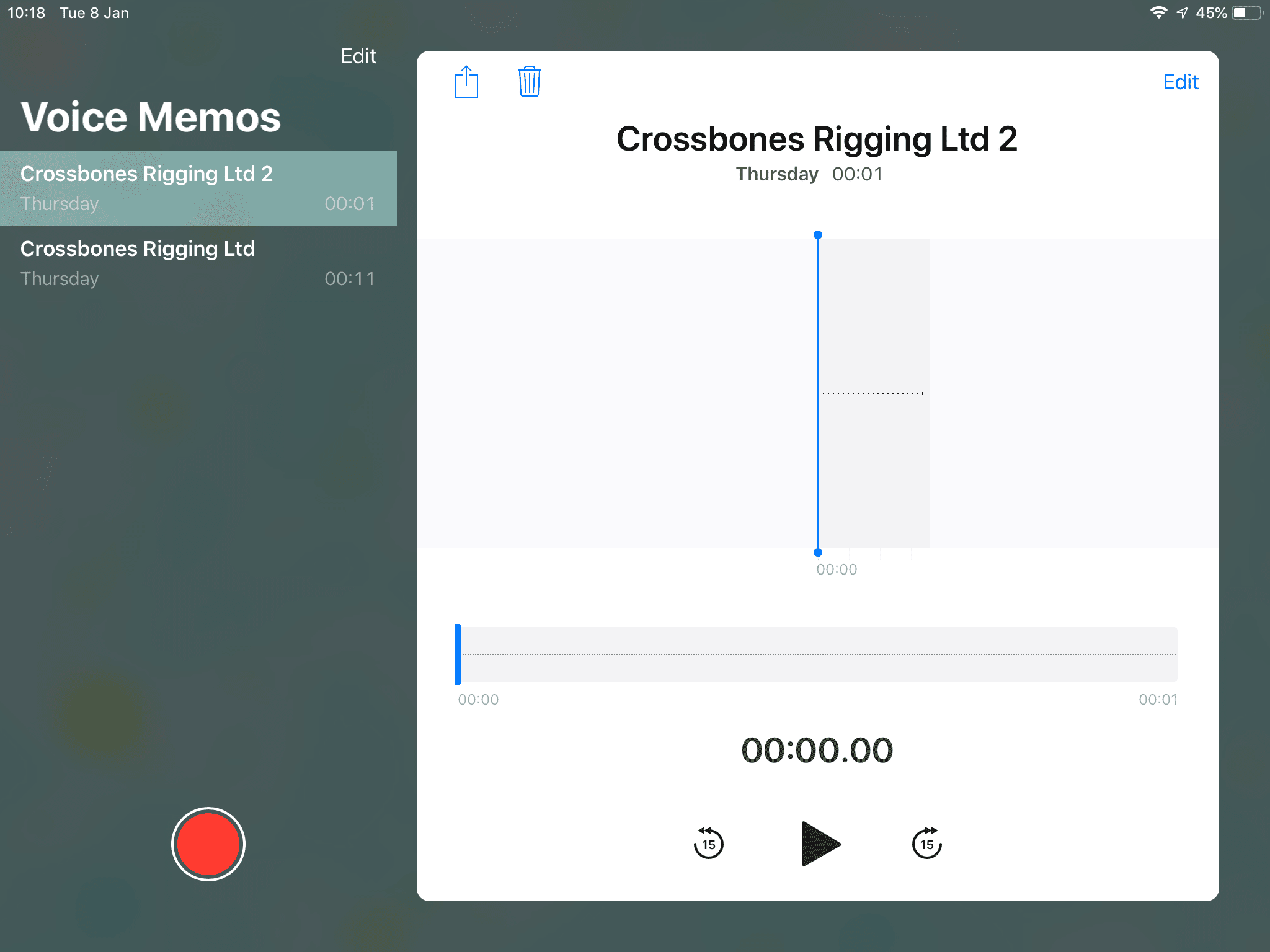 How to Record Audio on an iPad