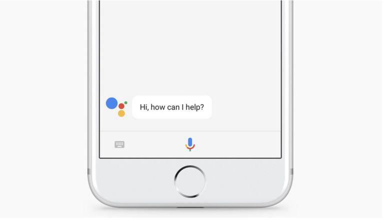 OK Google on an iPhone