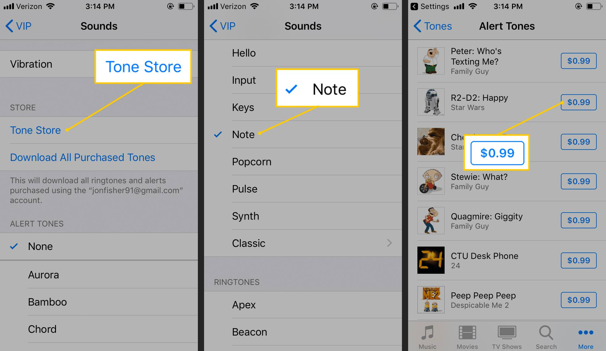 How to Change the New Mail Sound in iOS Mail