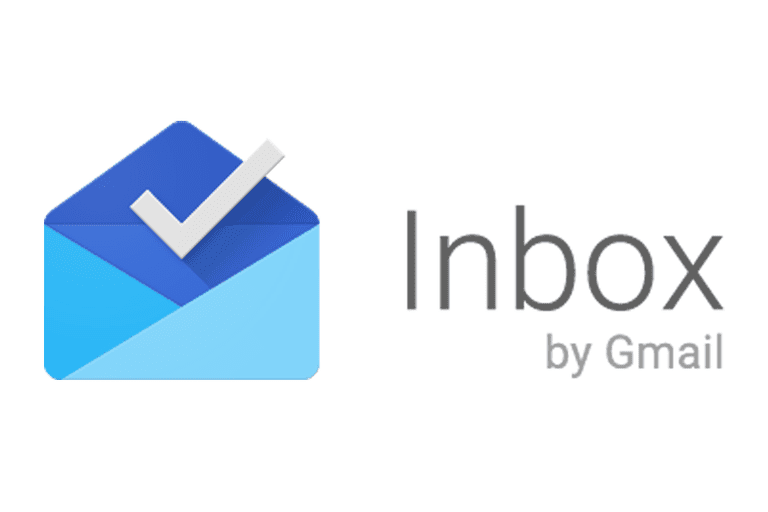 Screenshot of the Inbox by Gmail logo