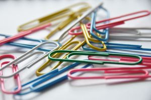 Attaching files can be as easy as using a paperclip