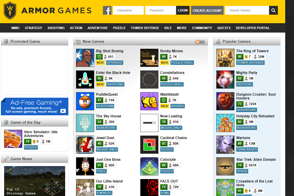 9 Best Websites For Playing Free Online Games