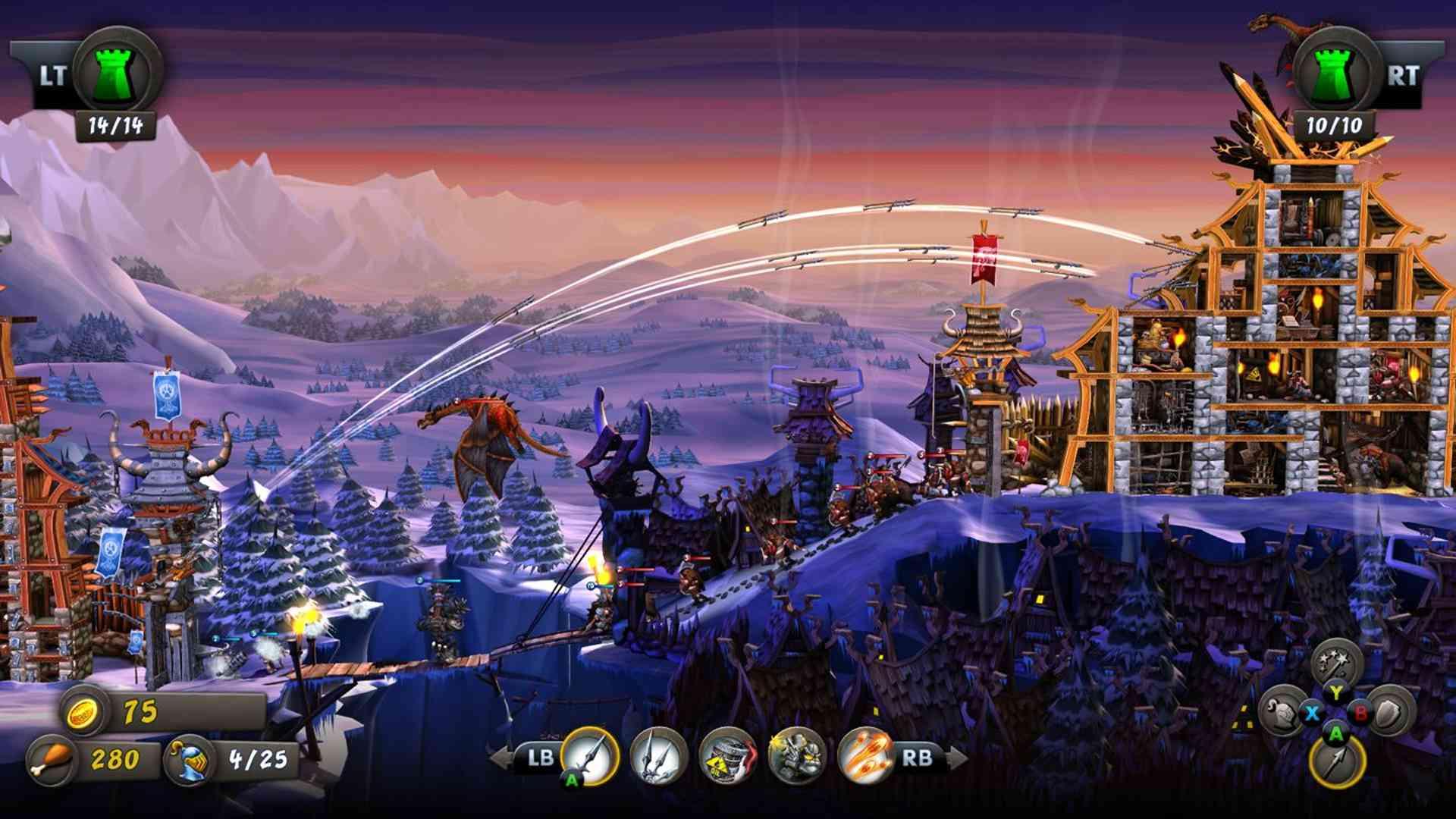 CastleStorm tower defense offline strategy video game.