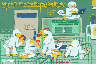 Things to try when your USB ports stop working illustration