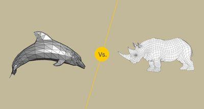 Polygonal Mesh vs NURBS