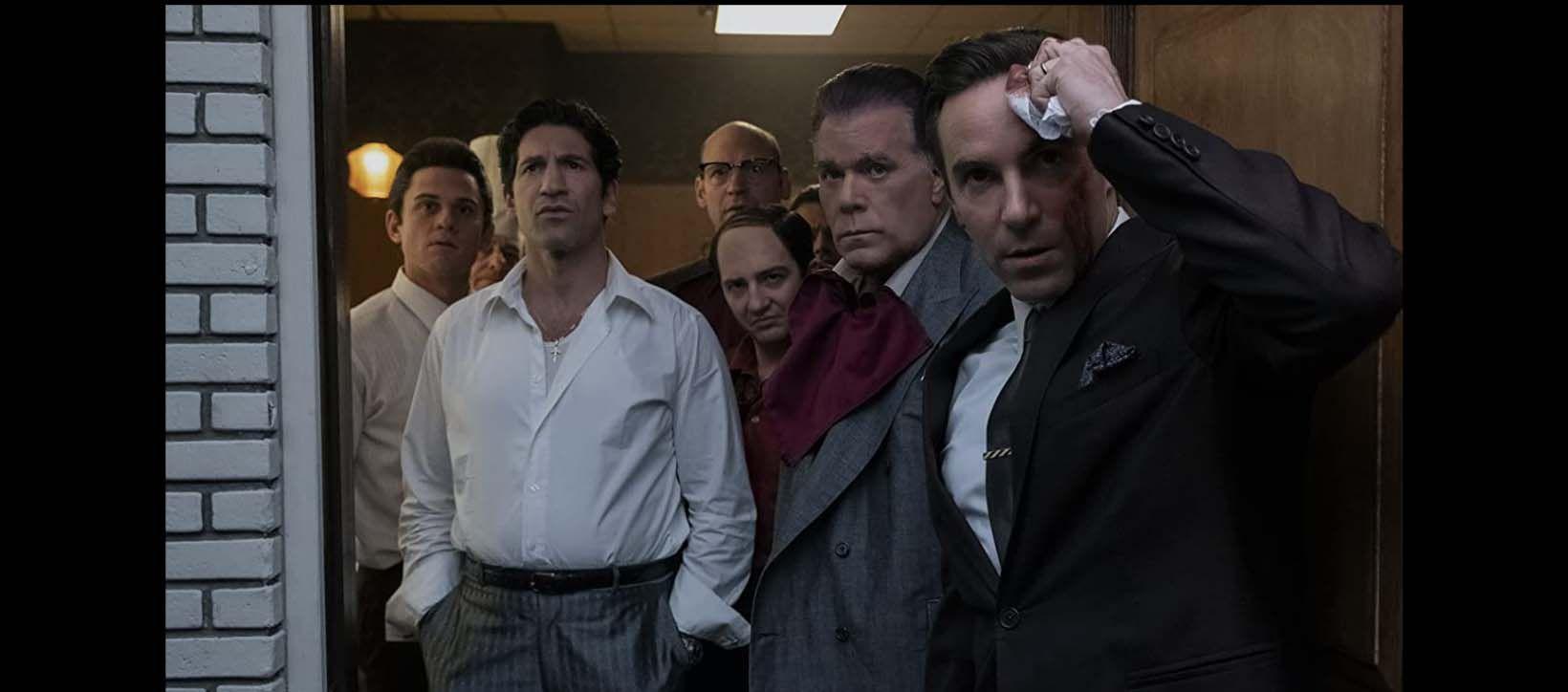 Ray Liotta, Alessandro Nivola, Corey Stoll, Jon Bernthal, John Magaro, and Billy Magnussen in 'The Many Saints of Newark'