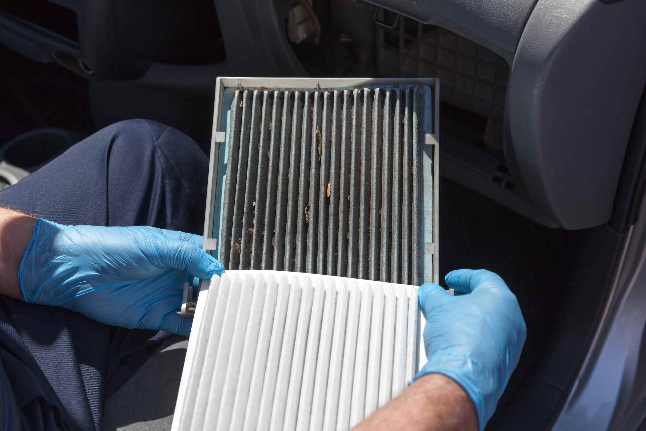 Cabin air filters work better than ionizers, but you need to replace them regularly.