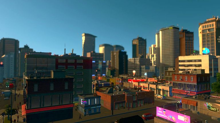 Cities: Skylines offline buidling video game on Xbox One X.