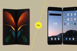Galaxy Z Fold2 vs. Microsoft Surface Duo
