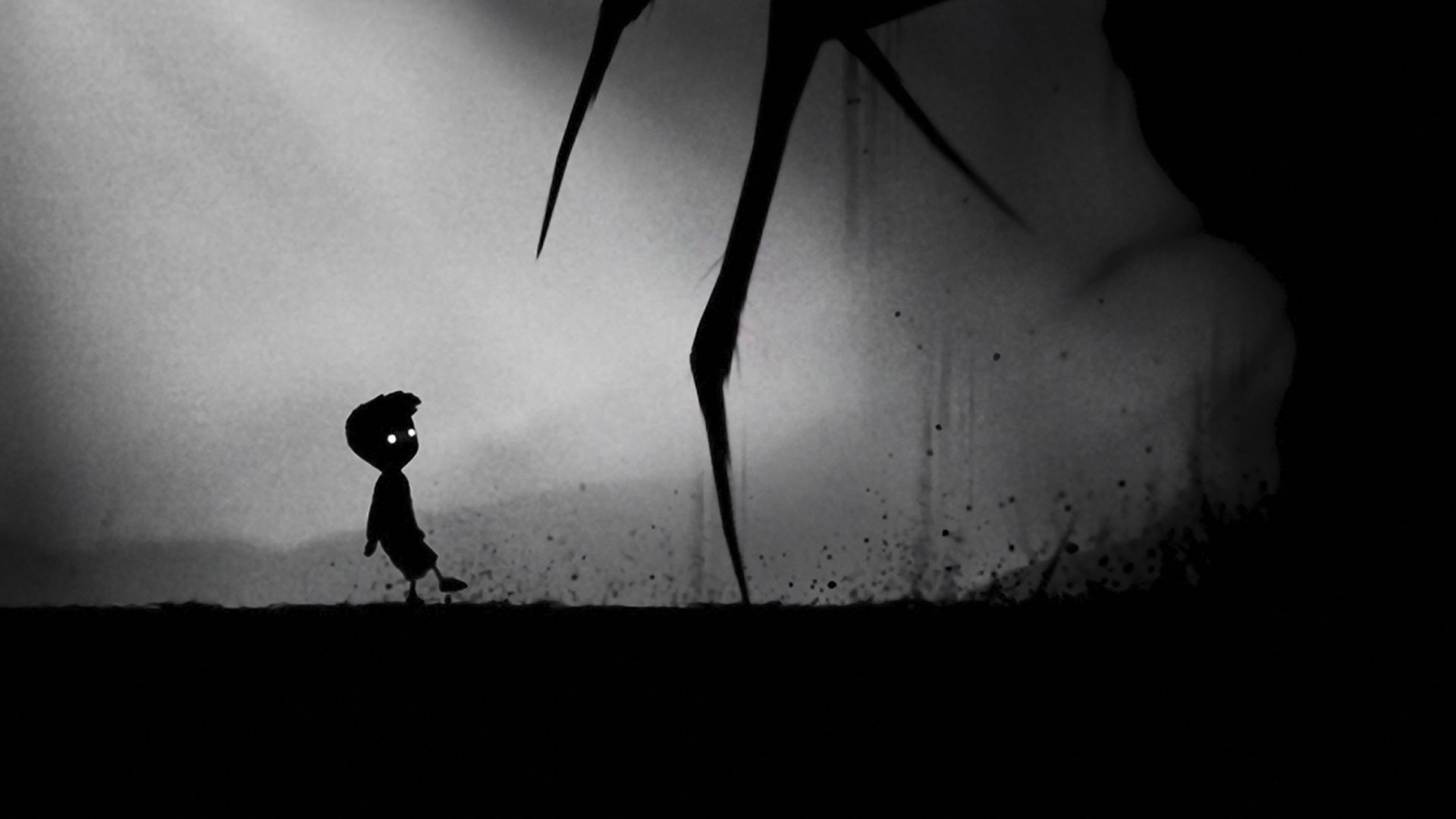 Promotional poster of LIMBO for XBOX