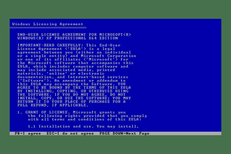 windows xp x64 product key