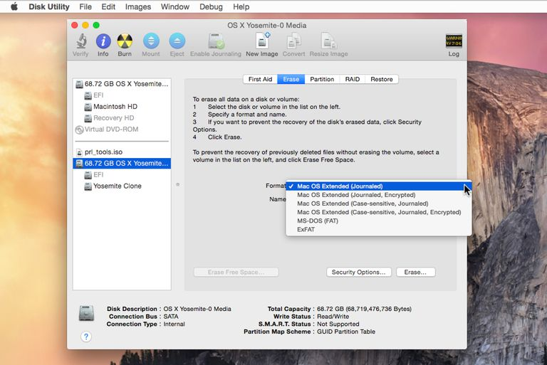 how to format usb drive mac