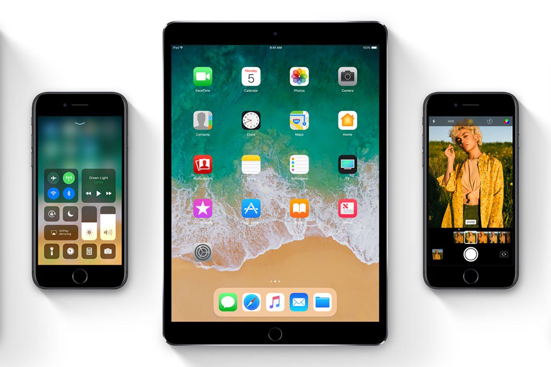 Screenshot of iOS 11