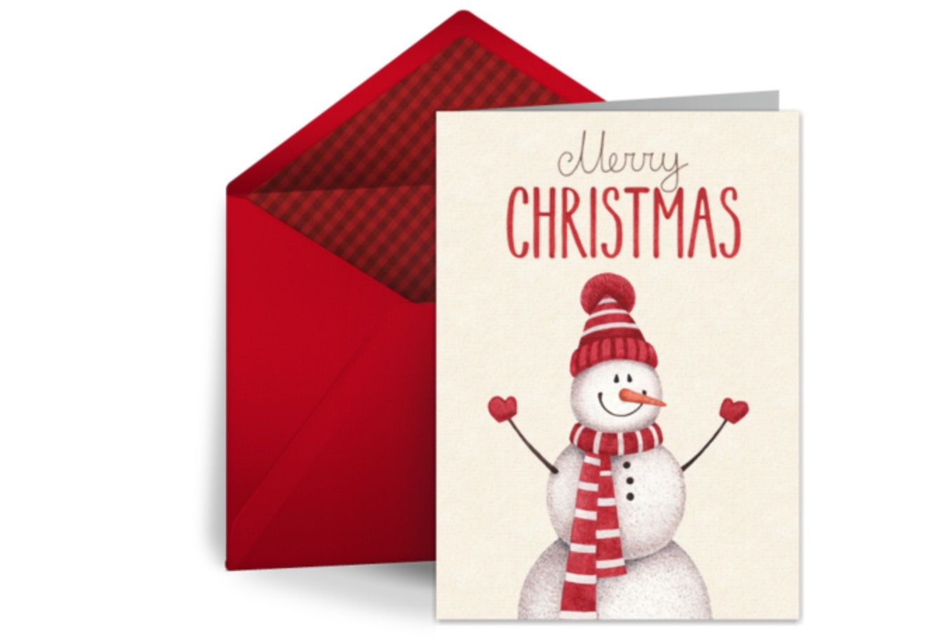 11 Free Christmas Ecards for Your Holiday Greeting