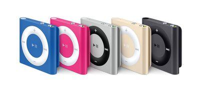 iPod shuffle lineup