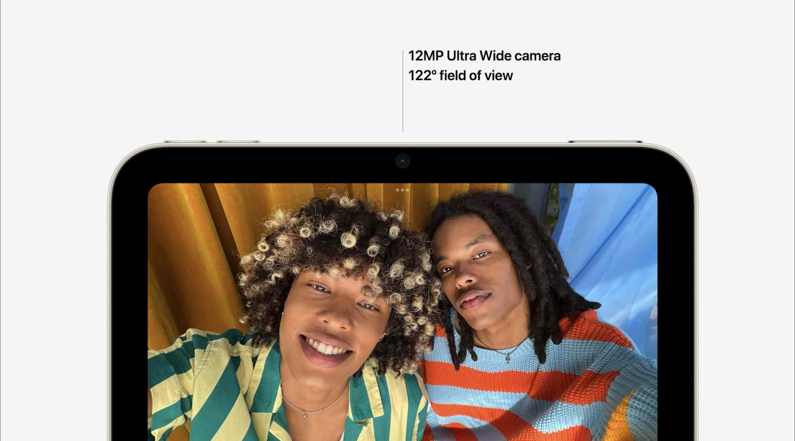 iPad Mini front camera