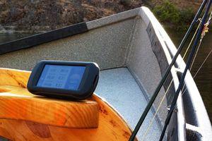 Garmin Montana GPS boating