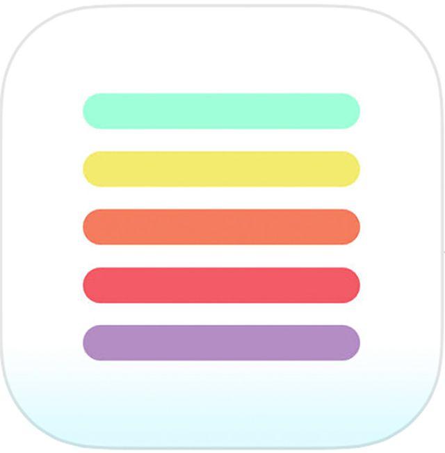 Thinglist app