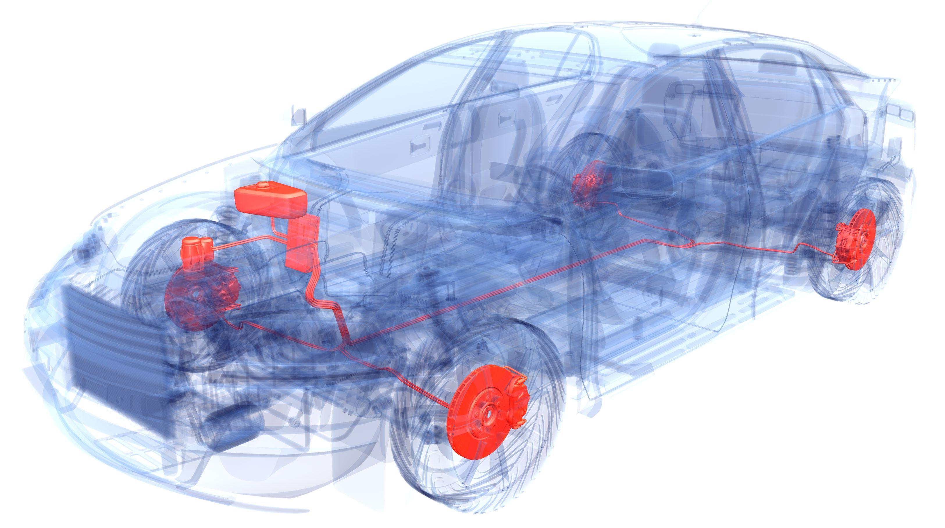 Explaining Hydraulic And Electromechanical Brakes Wiring Additional Brake Lights