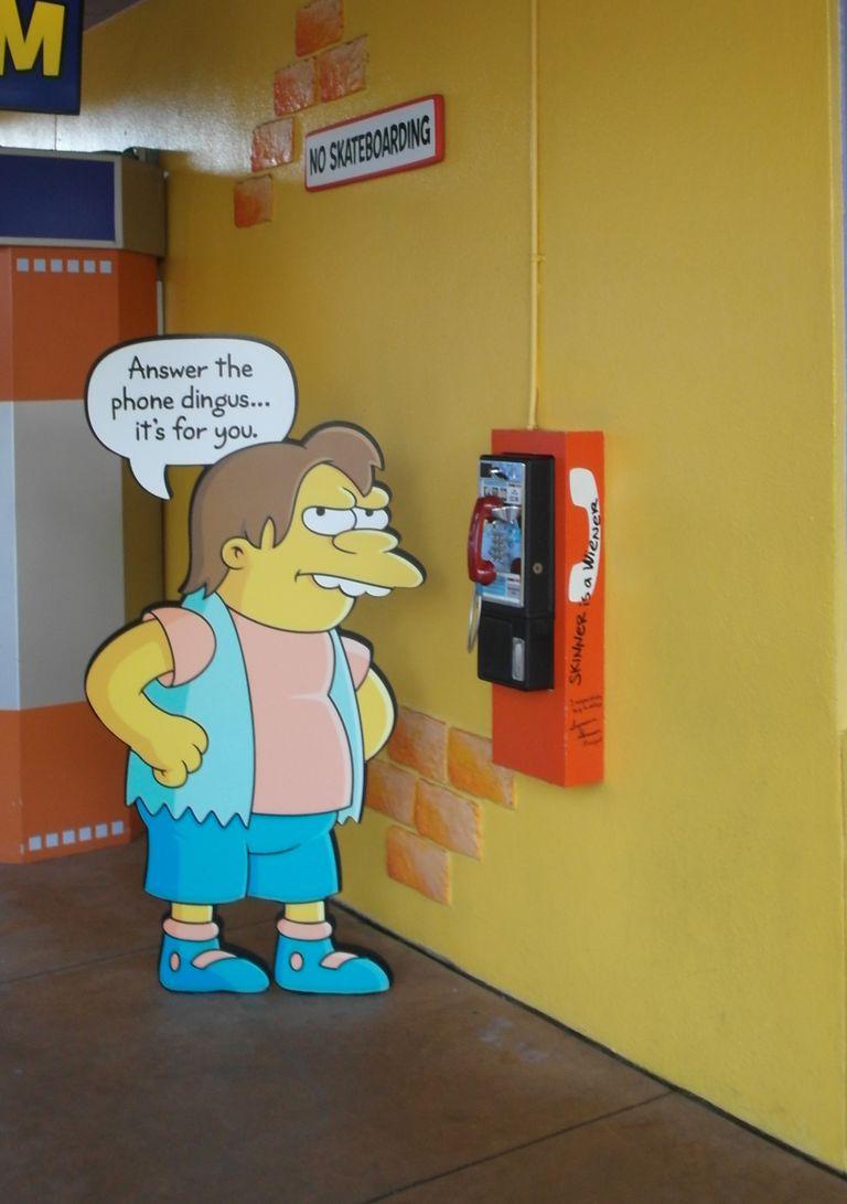Springfield USA at Universal Studios