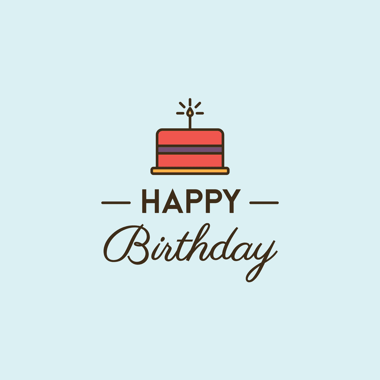 happy birthday card - Electronic Birthday Cards