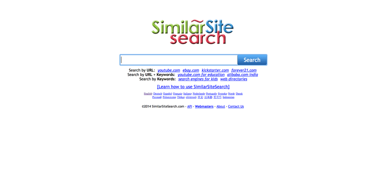 List of Search Engines Listed by Types of Searches ...