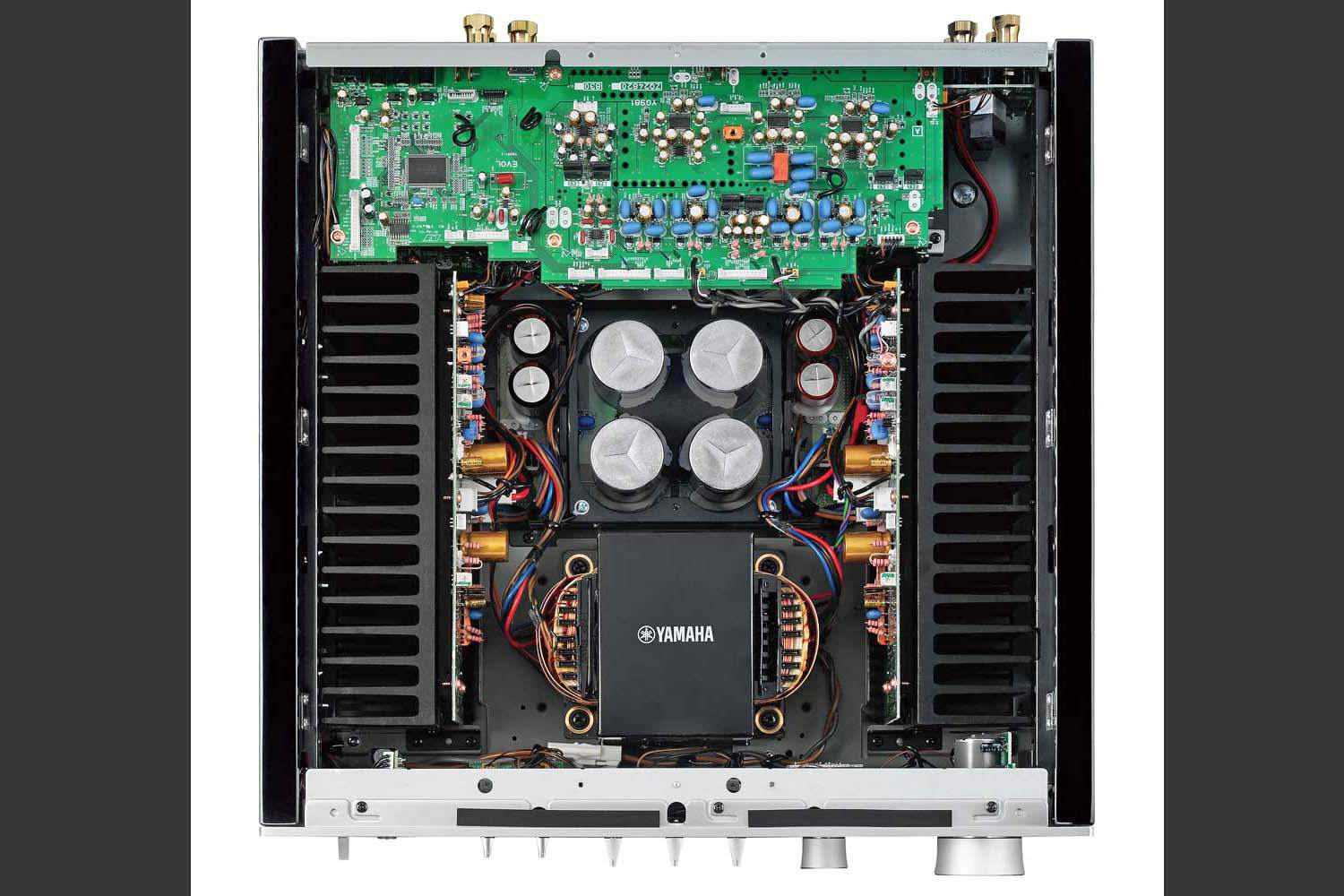 the yamaha hi end a s1100 integrated stereo amplifier profiled. Black Bedroom Furniture Sets. Home Design Ideas