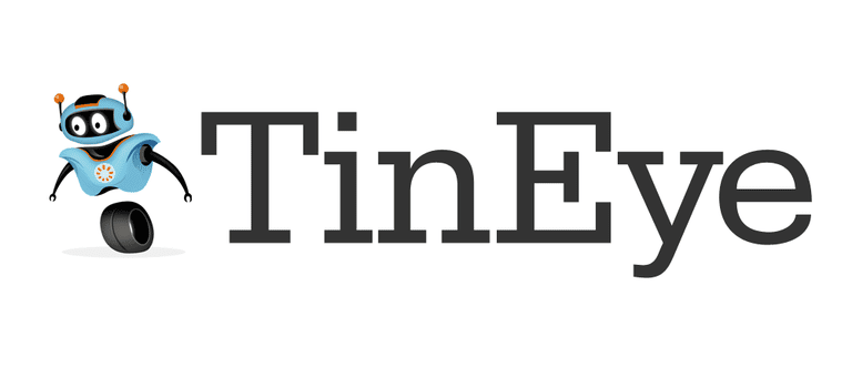 TinEye, a reverse image search engine.
