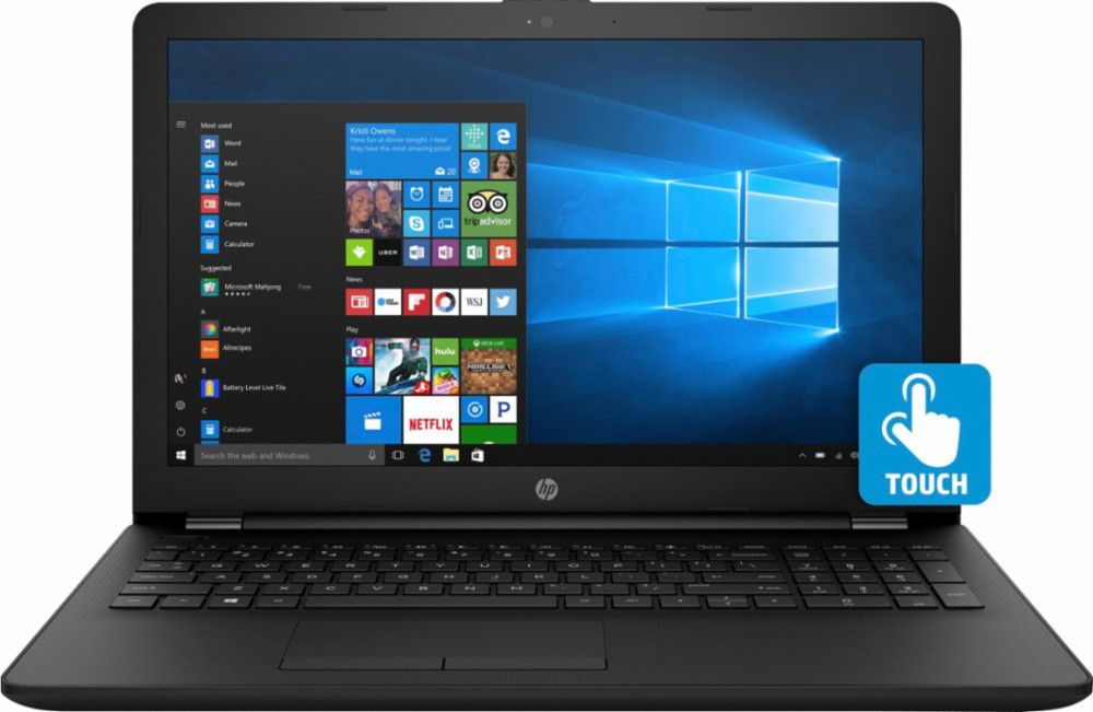 """HP - 15.6"""" Touch-Screen Laptop"""