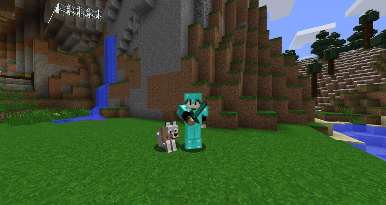 Minecraft Wolves - 5